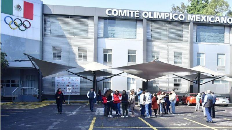 El Comité Olímpico Mexicano reanuda actividades luego de un año y tres meses