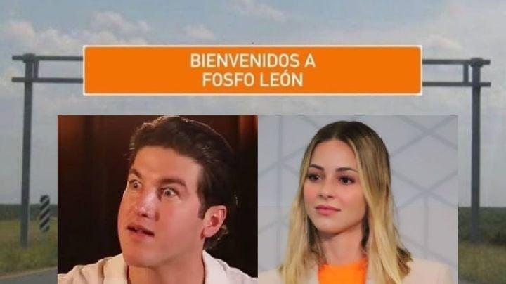 'Fosfo León': La esposa de Samuel García protagoniza los mejores memes sobre gubernatura en NL