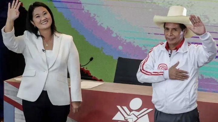 Pedro Castillo mantiene ventaja sobre Fujimori en la recta final de los votos computados en Perú