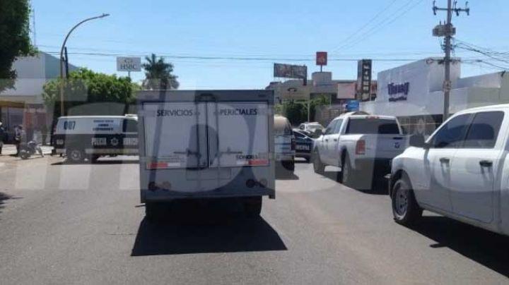 Con 5 disparos asesinan a plena luz del día a un hombre en el centro de Obregón