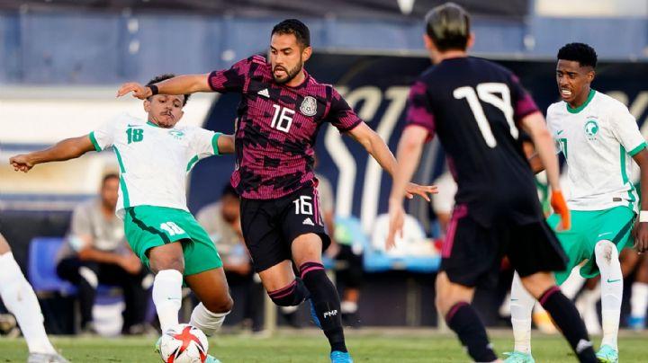 ¡Se le va de las manos! Tri Olímpico deja escapar el triunfo ante Arabia Saudita