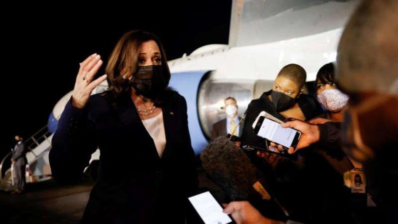 VIDEO: Así llega Kamala Harris a México; conoce su agenda política en compañía de AMLO