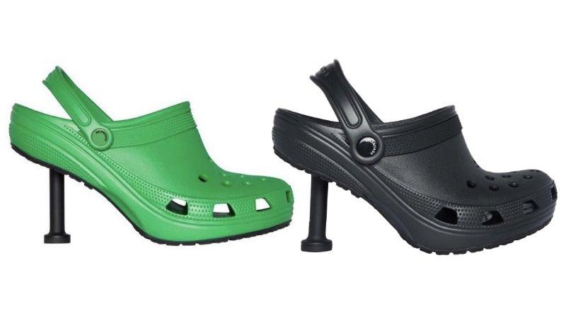 Balenciaga creo los Crocs con tacones y así reaccionaron las redes sociales