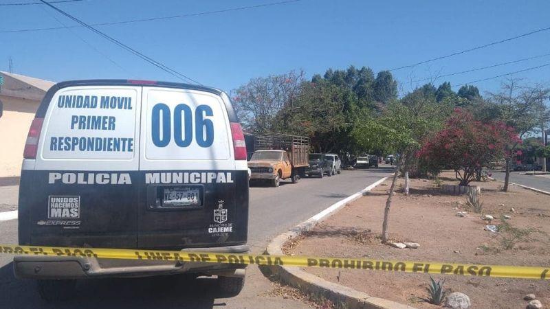 Sicarios rafaguean vivienda al oriente de Ciudad Obregón; reportan persecución