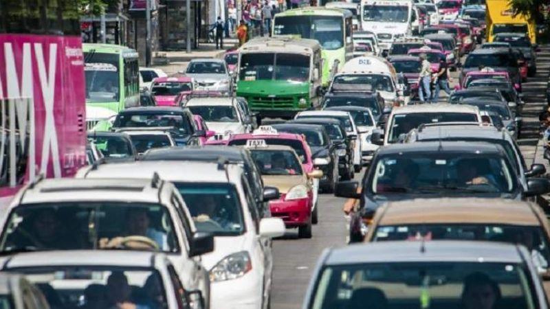 Activan doble Hoy No Circula en la CDMX por altos niveles de contaminación por ozono