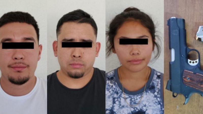 Capturan a tres personas armadas en frontera de Sonora; portaban pistola cargada