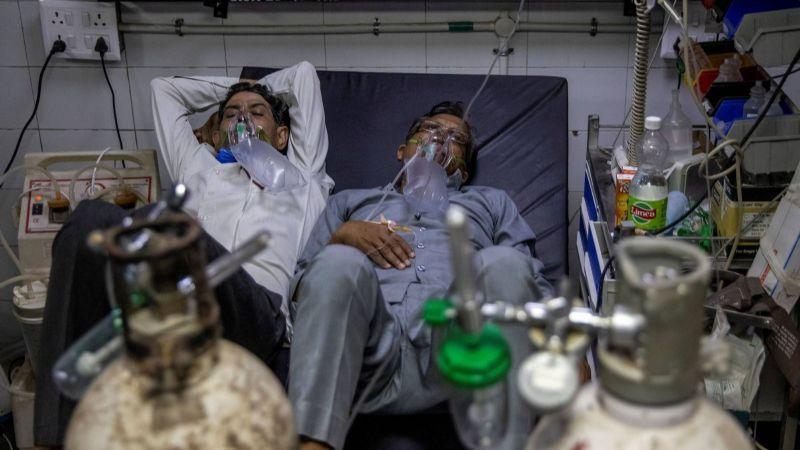 22 pacientes con Covid-19 habrían muerto tras quitarles el oxígeno en un hospital de India
