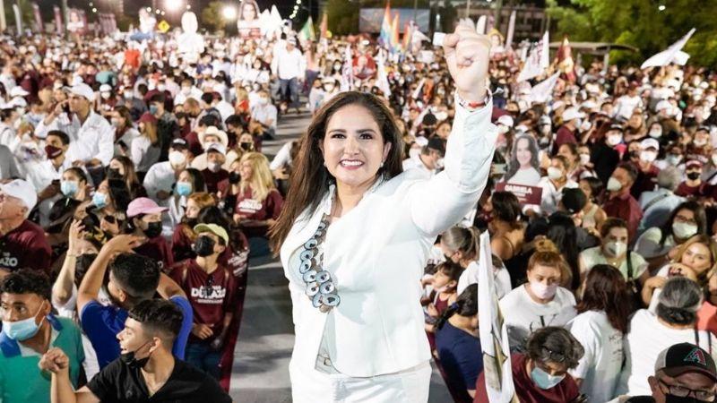 Célida López no da por perdida la alcaldía de Hermosillo pese a resultados del PREP