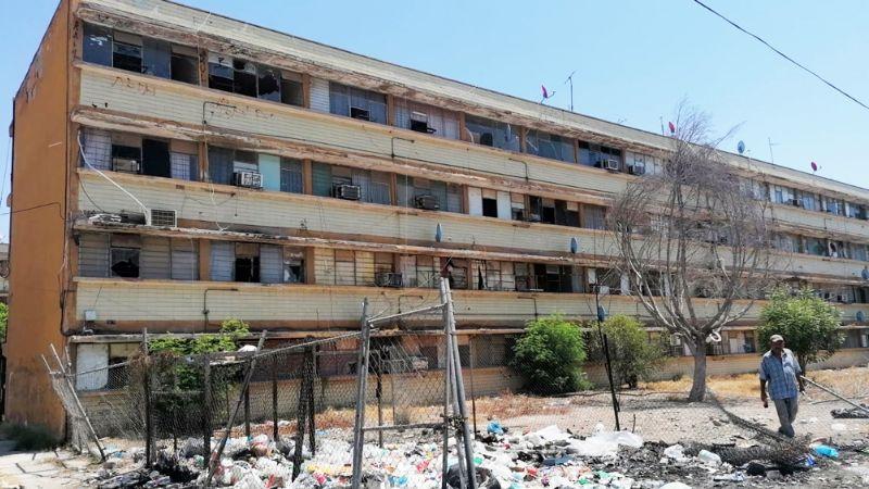 Navojoa: Residentes de multifamiliares exigen ser reubicados ante riesgo de derrumbe
