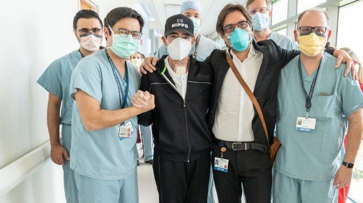 Tras sobrevivir al Covid-19, actor de Televisa regresa al hospital por aparatoso accidente