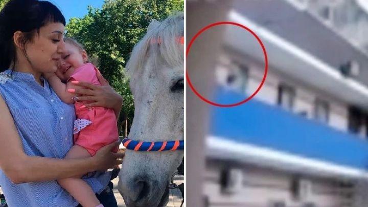 """""""Mamá tengo miedo"""": Anna castiga a su hija de 3 años y la amarra del balcón; cae y muere"""