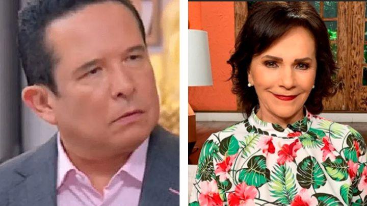 """Desde TV Azteca, Chapoy manda fuerte recadito a Gustavo Adolfo Infante por llamarla """"bruja"""""""