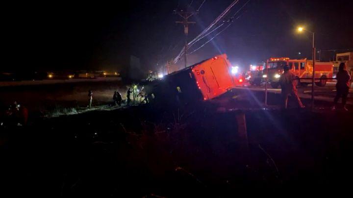 Tragedia en Baja California: Mueren 7 tras accidente de autobús en Rosarito