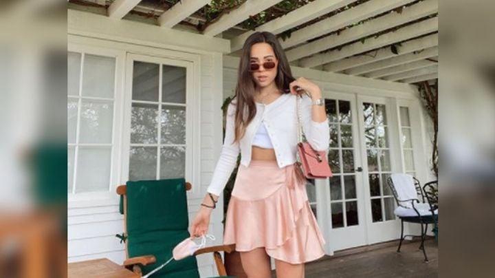 ¡Se va a enojar Pepe Aguilar! Aneliz modela en bañador para estas FOTOS de Instagram
