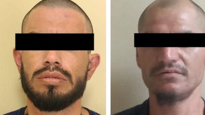 Atrapan a dos presuntos 'tiradores' al norte de Sonora; les aseguran 23 envoltorios de droga