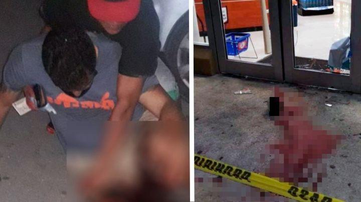 Tenía 35 años: Le niegan cerveza a borracho y rompe puerta de tienda; José Julián murió desangrado