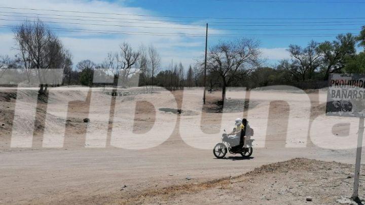 Autoridades ven seco el panorama para el Río Mayo; pasa una de sus peores sequías