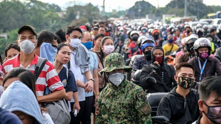 Filipinas acusará de homicidio a personas con Covid-19 que no respeten medidas sanitarias