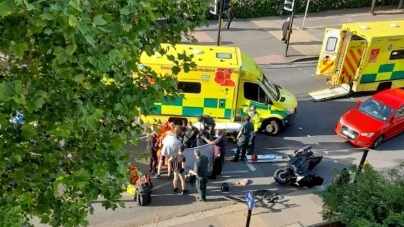 """""""Se está muriendo"""": Niña es arrollada por joven de 19 años; madre y hermano tratan de salvarla"""