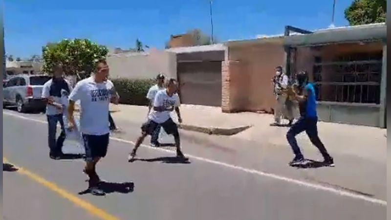 VIDEO: Simpatizantes de Célida López y 'Toño' Astiazarán protagonizan pelea campal en Hermosillo