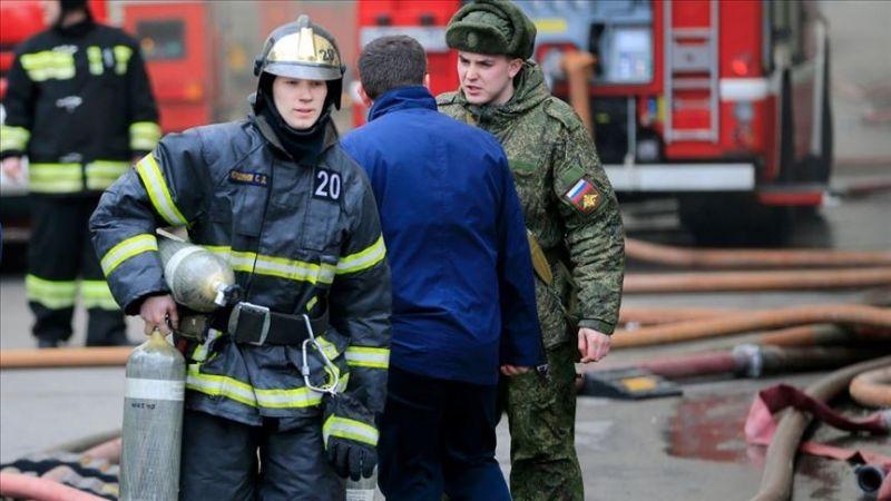 3 pacientes con Covid-19 muertos y al menos 8 heridos tras incendio en un hospital de Rusia