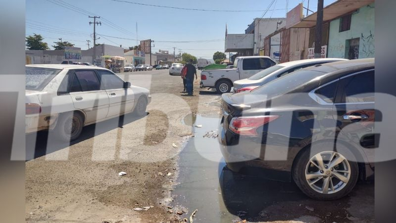 Ciudad Obregón: Locatarios del Mercadito Unión reportan estar entre aguas negras