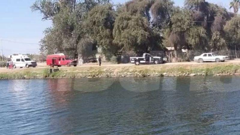 Tragedia en Cajeme: Hallan cadáver de joven de 19 años; murió ahogado en el Canal Bajo