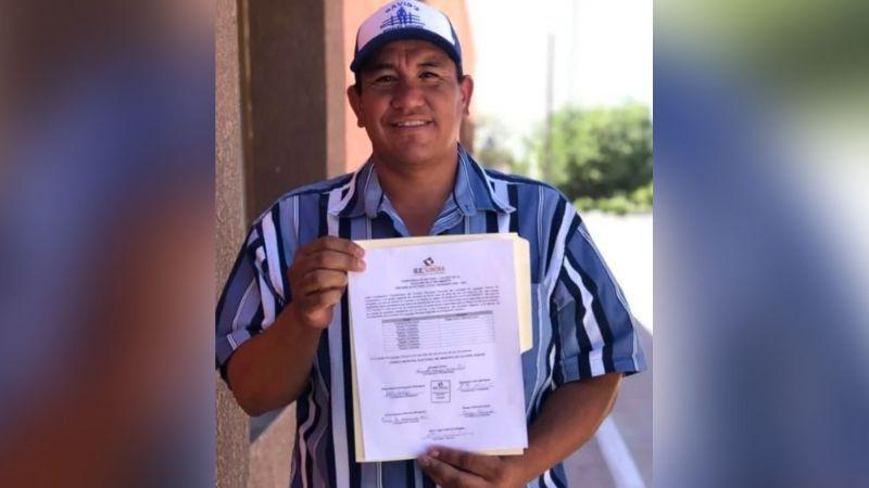 Tras ser rechazado por Morena, Edgar Aarón Palomino gana alcaldía en Sonora sin tener registro