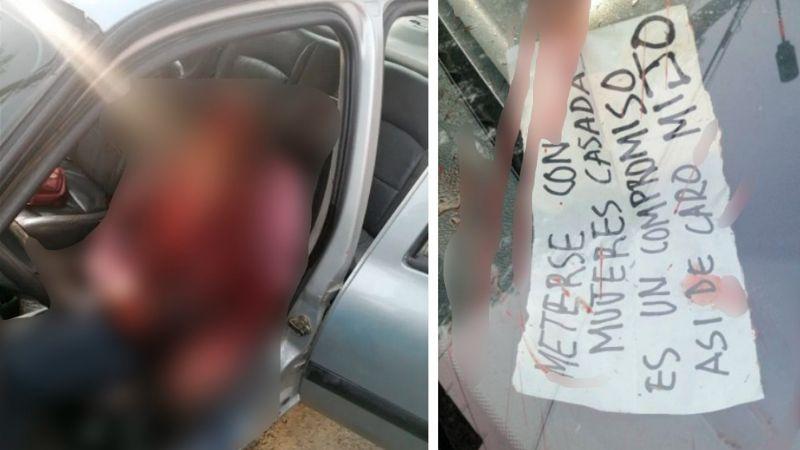 """Por meterte con casadas"": Sicarios ejecutan a tiros a Óscar; su hijo se salva de morir acribillado"
