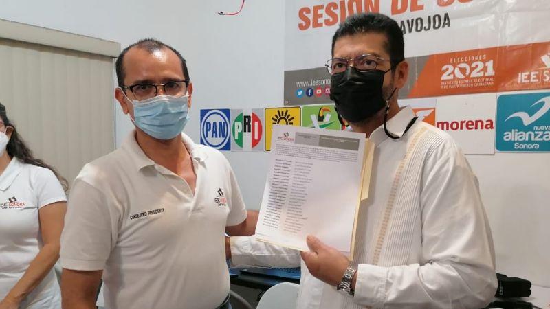 Navojoa tiene nuevo alcalde: Mario 'Mayito'Martínez recibe constancia de mayoría de votos