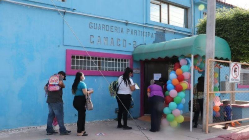 Con todas las medidas sanitarias, reabren guarderías del IMSS en Cajeme