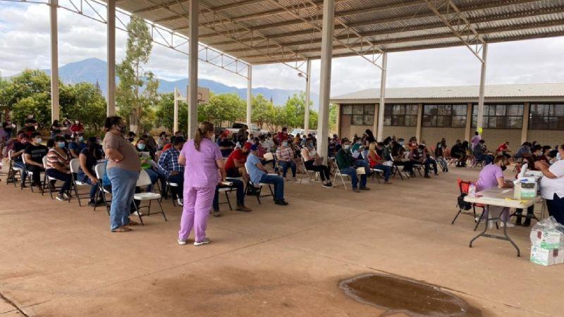 Inicia vacunación para personas entre 18 y 39 años en los municipios fronterizos de Sonora