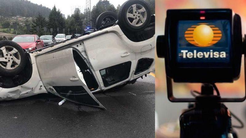 Tras brutal accidente, famoso actor de Televisa reaparece en 'Hoy'; volcó en carretera y así quedó