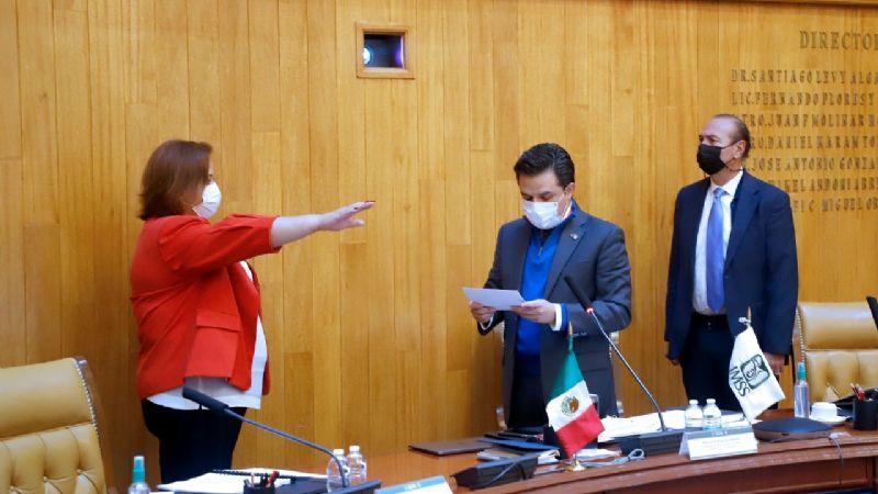 Rinde protesta María de Lourdes Díaz Espinosa, nueva delegada del IMSS Sonora