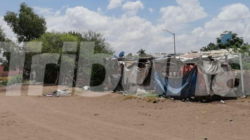 Cajeme: Habitantes de invasión Jardines de Providencia piden apoyo; sus casas son afectadas por lluvia
