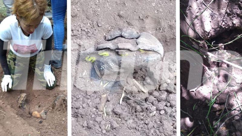 FUERTES IMÁGENES: Hallan restos de hombre desaparecido en el Valle del Yaqui; estaba enterrado