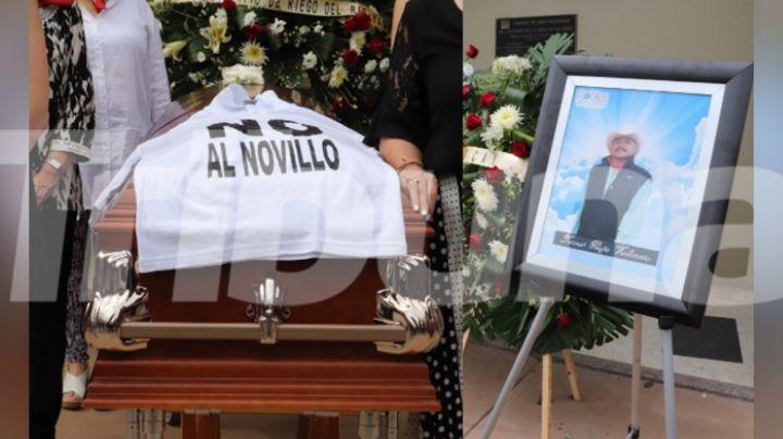 """""""Nos arrebataron su vida, pero su lucha sigue"""": Con profundo dolor, despiden a Tomás Rojo en Cajeme"""