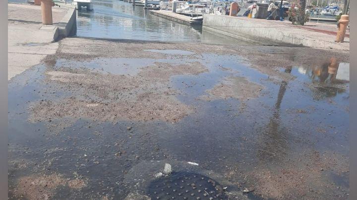 Guaymas: Llueven denuncias por colapsos de drenajes en toda la ciudad