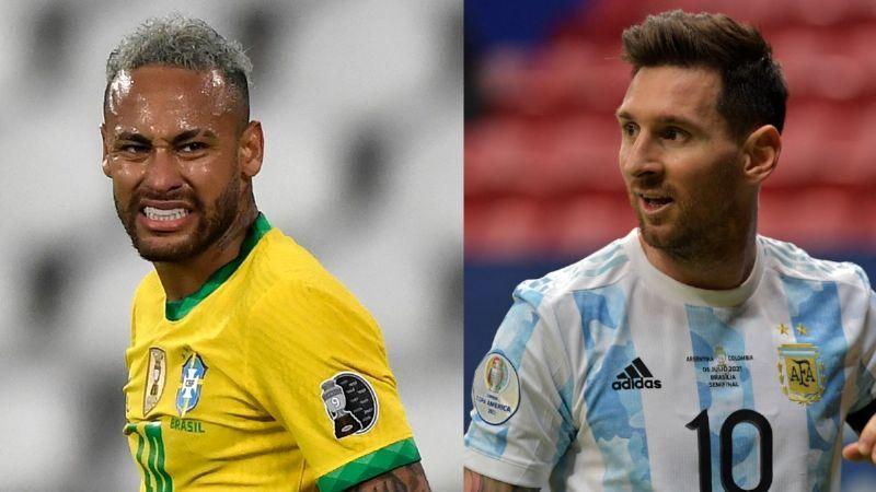Argentina y Brasil, listos para la final de la Copa América: Dónde y cuándo ver el partido