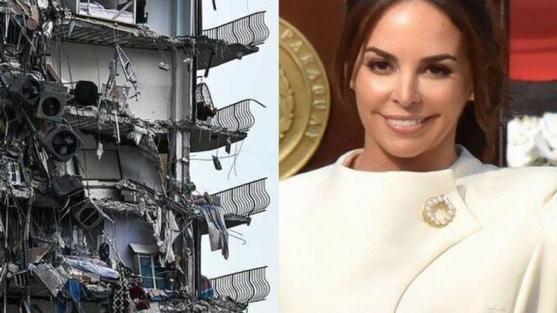 Van 86 víctimas tras colapso de edificio en Miami; la primera dama de Paraguay es una de las afectadas