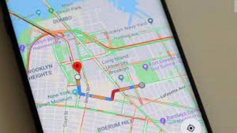 Instrucciones para medir la distancia real entre dos destinos en Google Maps
