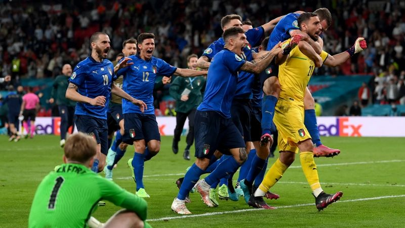 Italia se impone ante Inglaterra y se convierte en el nuevo campeón de la Eurocopa 2020