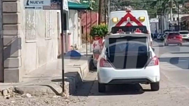 Creían que solo estaba borracho; fallece hombre en plena vía pública de Guaymas