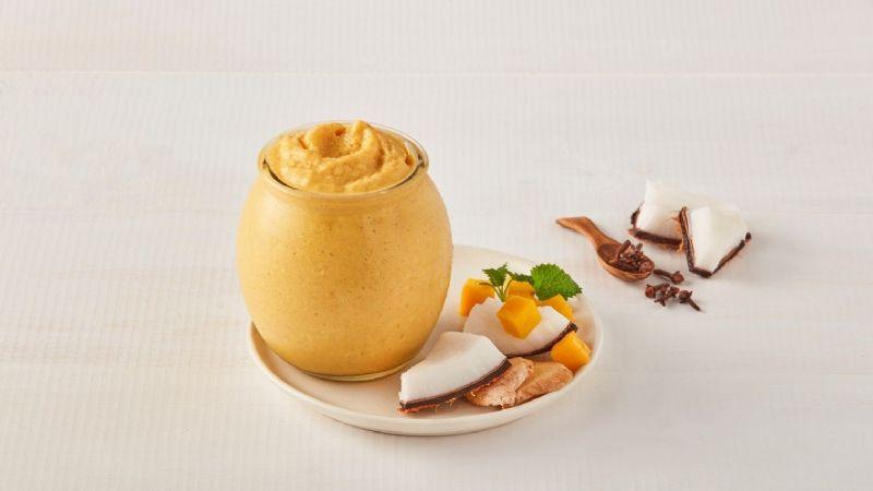 ¡Rico y saludable! Disfruta del sabor del trópico con este delicioso 'smothie' de mango