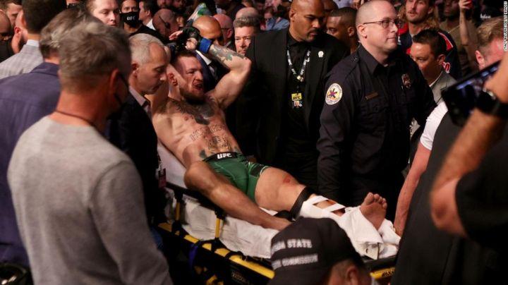 Conor McGregor arremete contra Poirier tras su fractura en el UFC 264