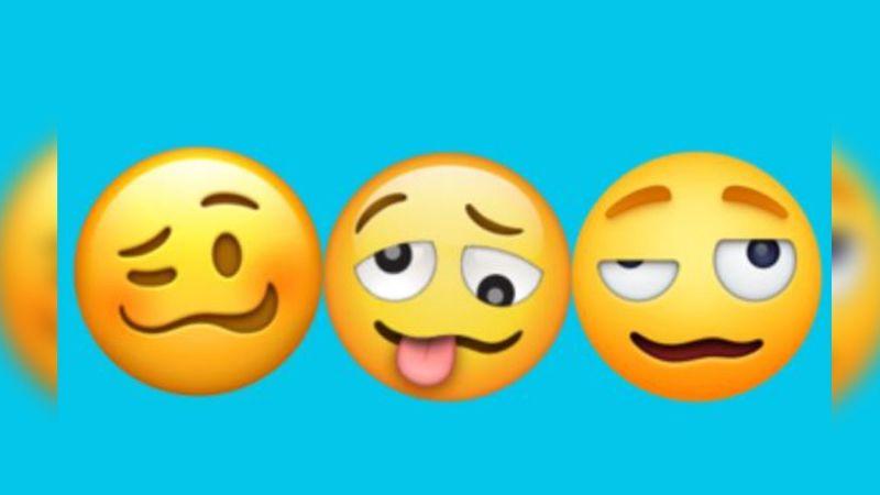 ¿Usas este emoji cuando estás borracho? El significado podría ser otro y se estaría en un error