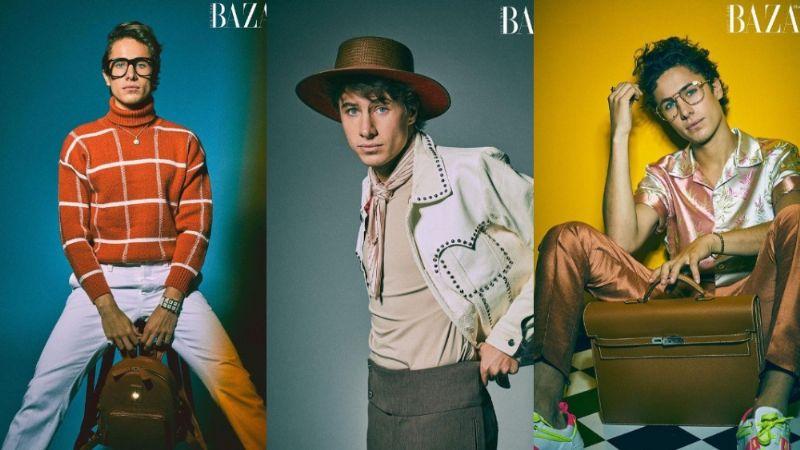 Juanpa Zurita experimenta con varios estilos; se convierte en el nuevo ícono de famosa revista