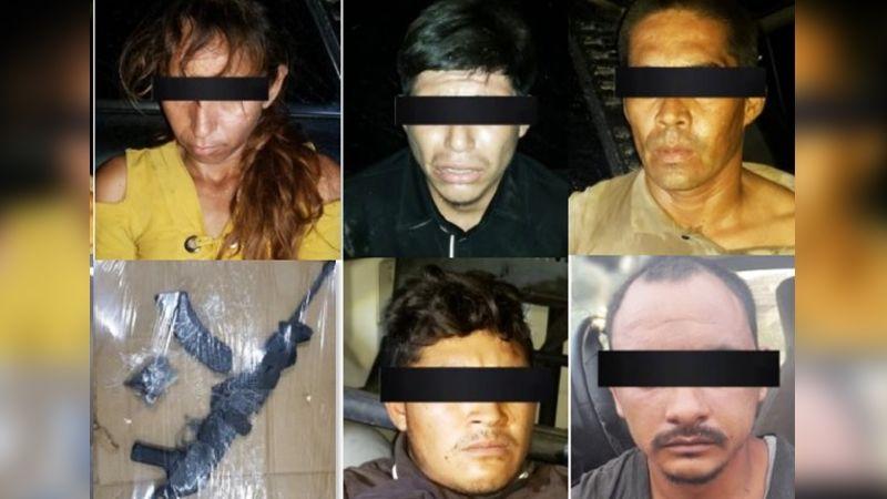 Capturan a cinco presuntos sicarios en Empalme; les incautan armas largas y equipo táctico
