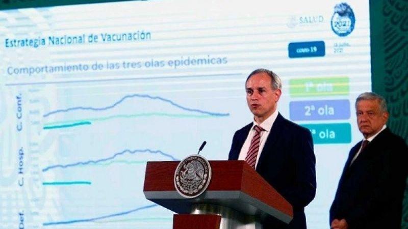 Tercera ola del Covid-19 en México: El 40% de la población mayor de 18 años ya fue vacunada