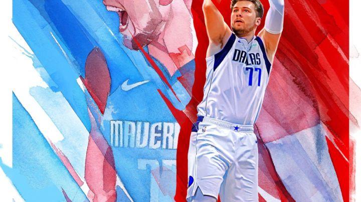 ¡De portada! Luka Doncic es la estrella del videojuego de basquetbol NBA 2K22